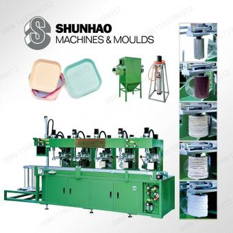 Melamine Dinnerware Polishing Machine