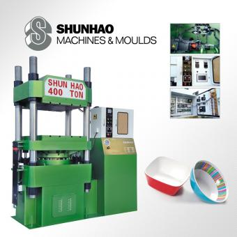hydraulic melamine dinnerware pressing machine
